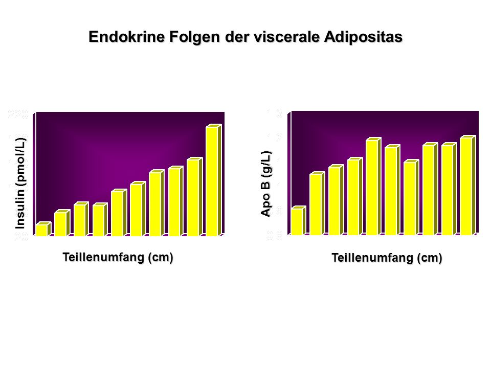 Endokrine Folgen der viscerale Adipositas