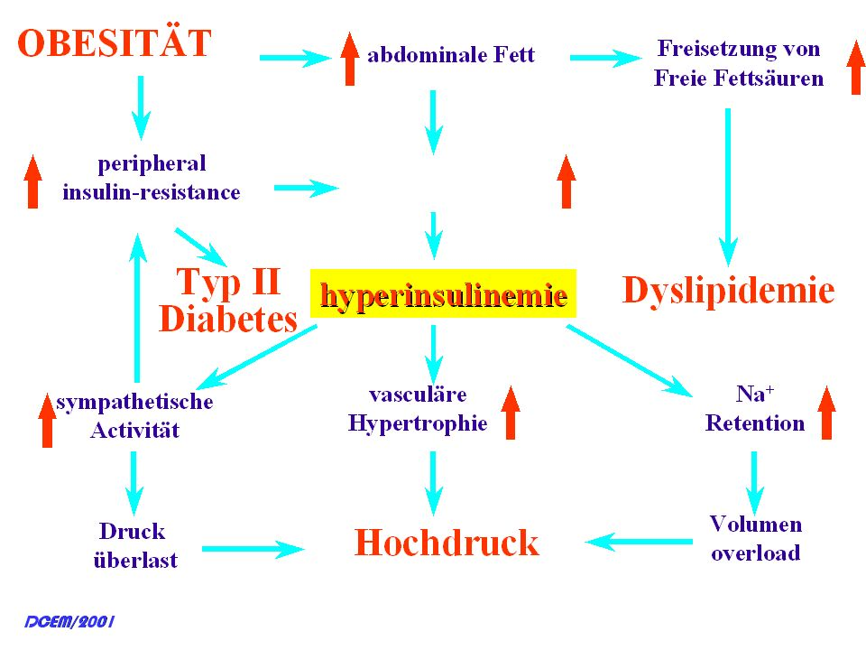 Titolo: Haemodynamic consequences of the metabolic syndrome