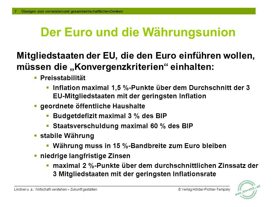 Der Euro und die Währungsunion