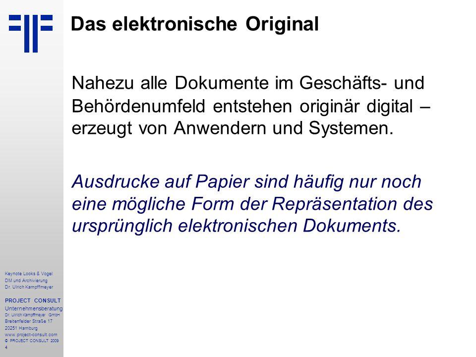Das elektronische Original