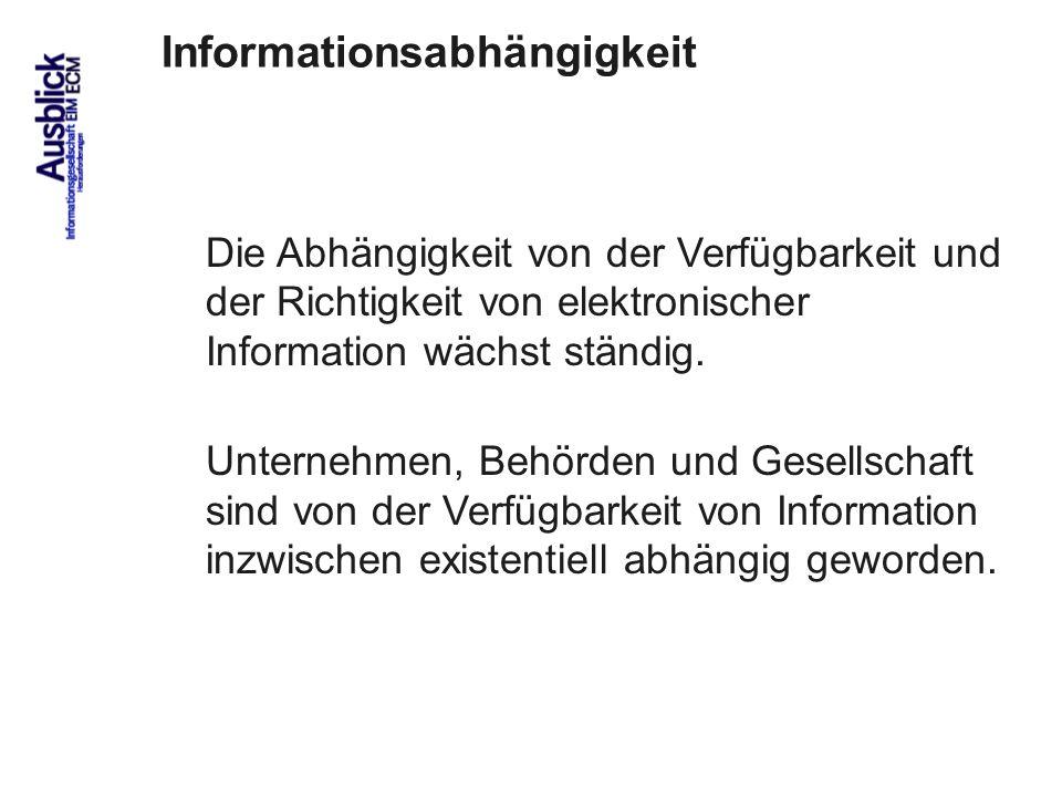 Informationsabhängigkeit