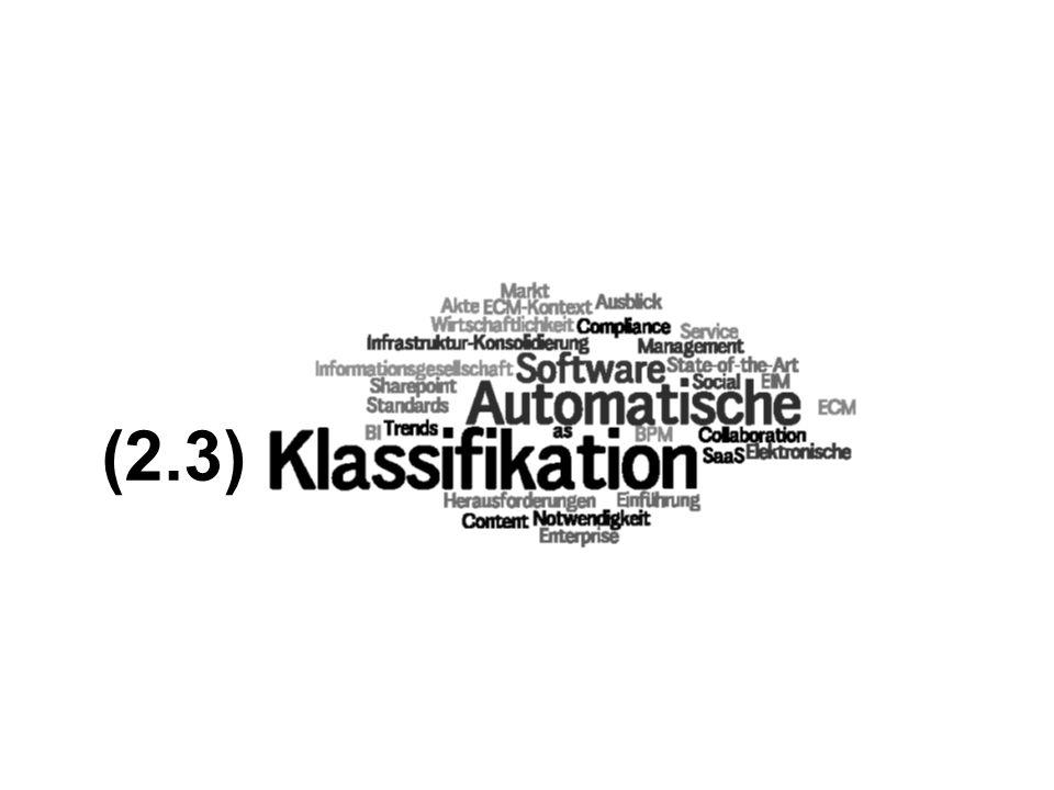 (2.3) PROJECT CONSULT Unternehmensberatung ECM Trends 2010 COI GmbH