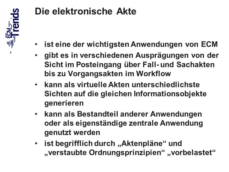 Die elektronische Akte