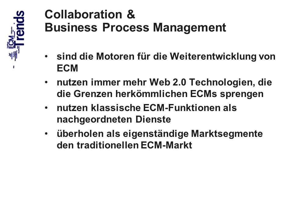 Collaboration & Business Process Management