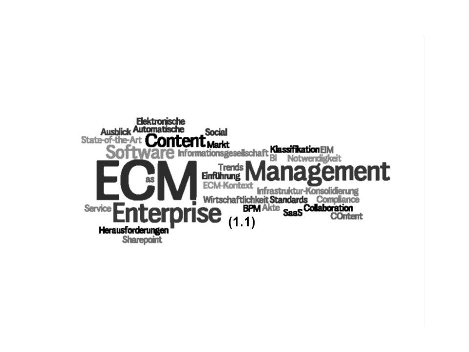 (1.1) PROJECT CONSULT Unternehmensberatung ECM Trends COI GmbH