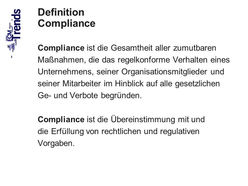 Definition Compliance