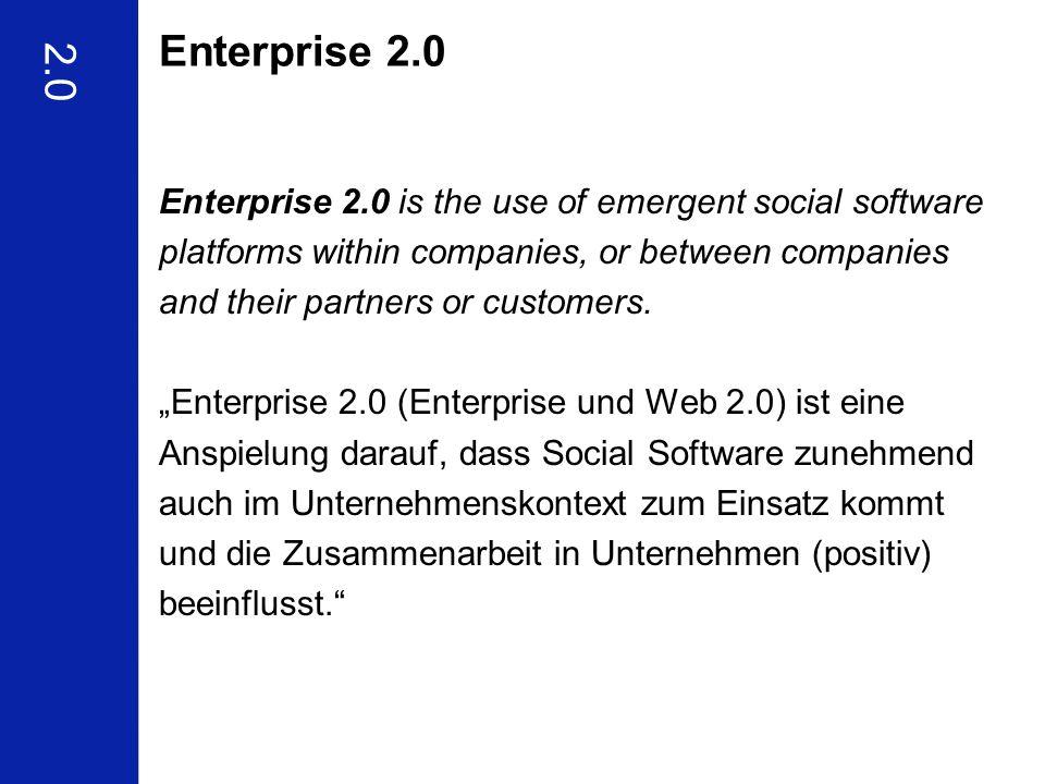 Enterprise 2.0 2.0.