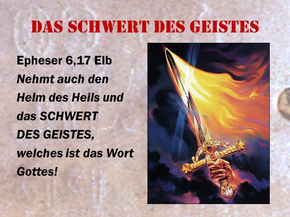 Das Schwert des Geistes