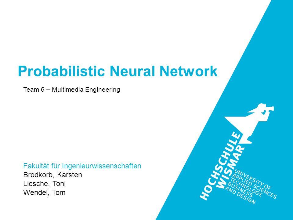 Probabilistic Neural Network