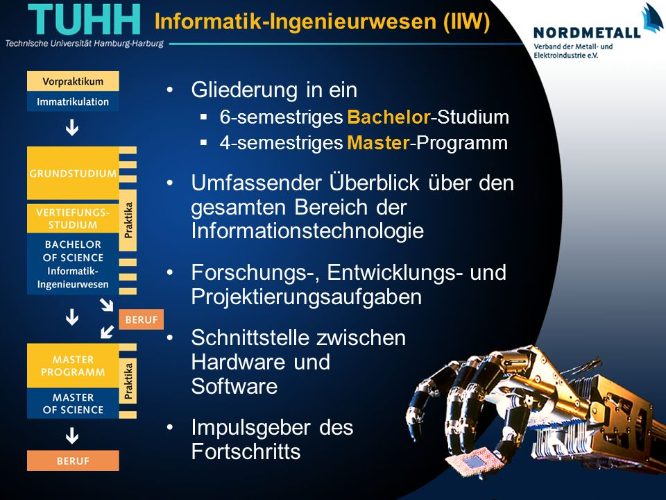 Studiengang: Informatik-Ingenieurwesen (IIW)