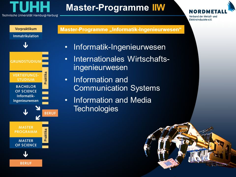 Master: Informatik-Ingenieurwesen (1)