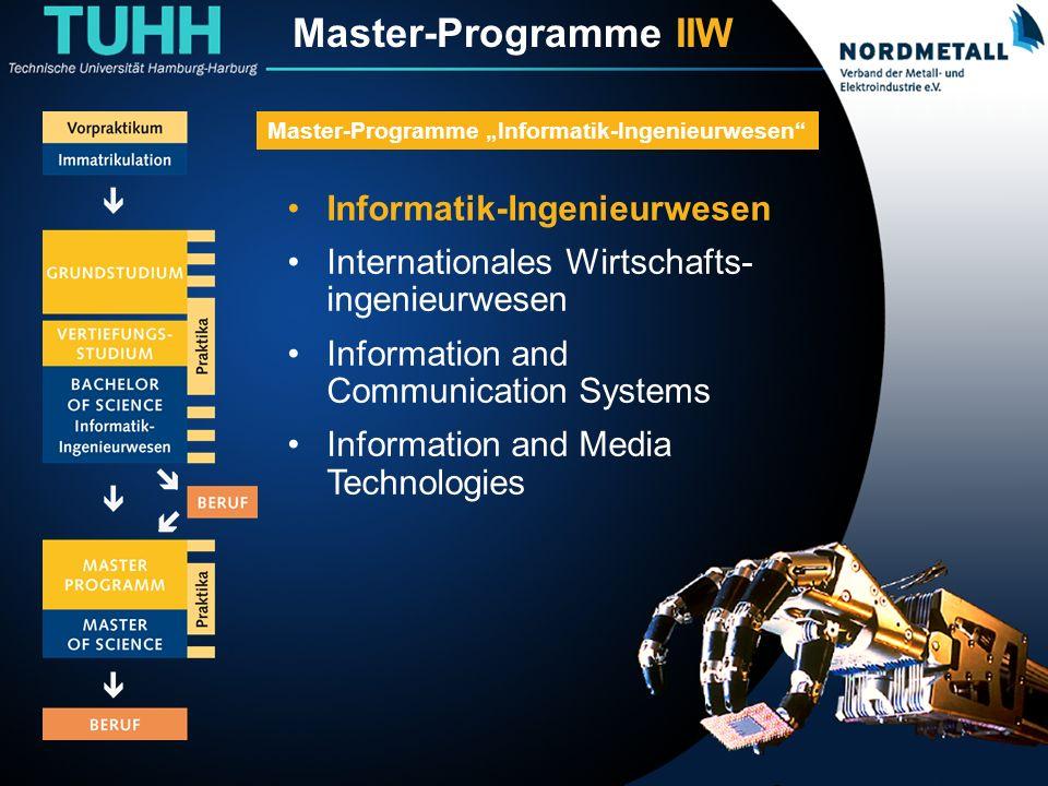 Master: Informatik-Ingenieurwesen (2)