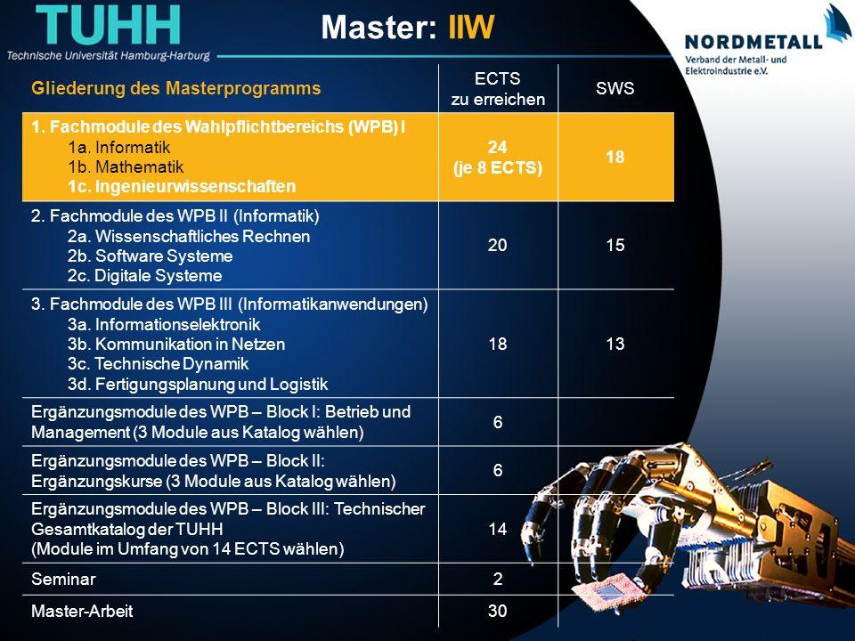 Master: Informatik-Ingenieurwesen (8)