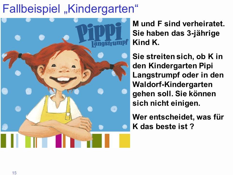 "Fallbeispiel ""Kindergarten"