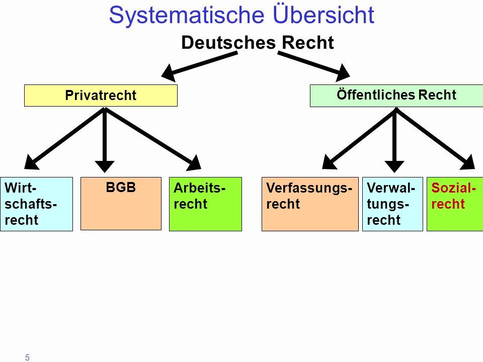 Systematische Übersicht