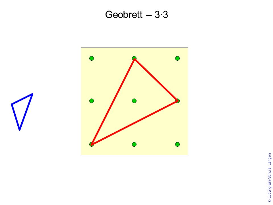 Geobrett – 3·3