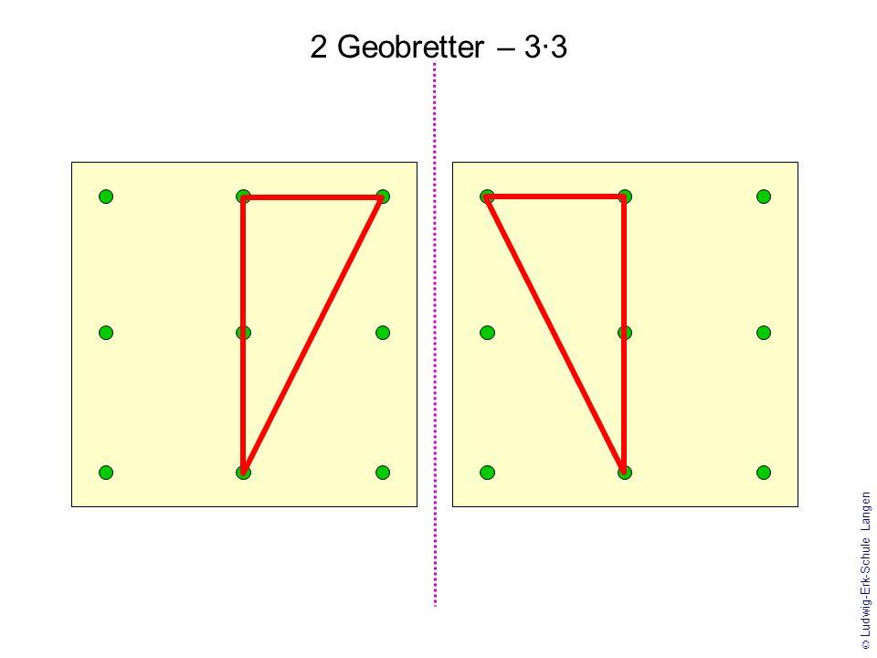 2 Geobretter – 3·3