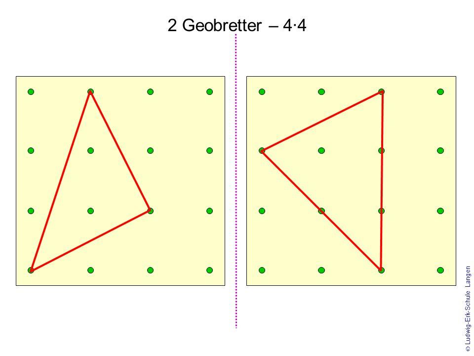 2 Geobretter – 4·4