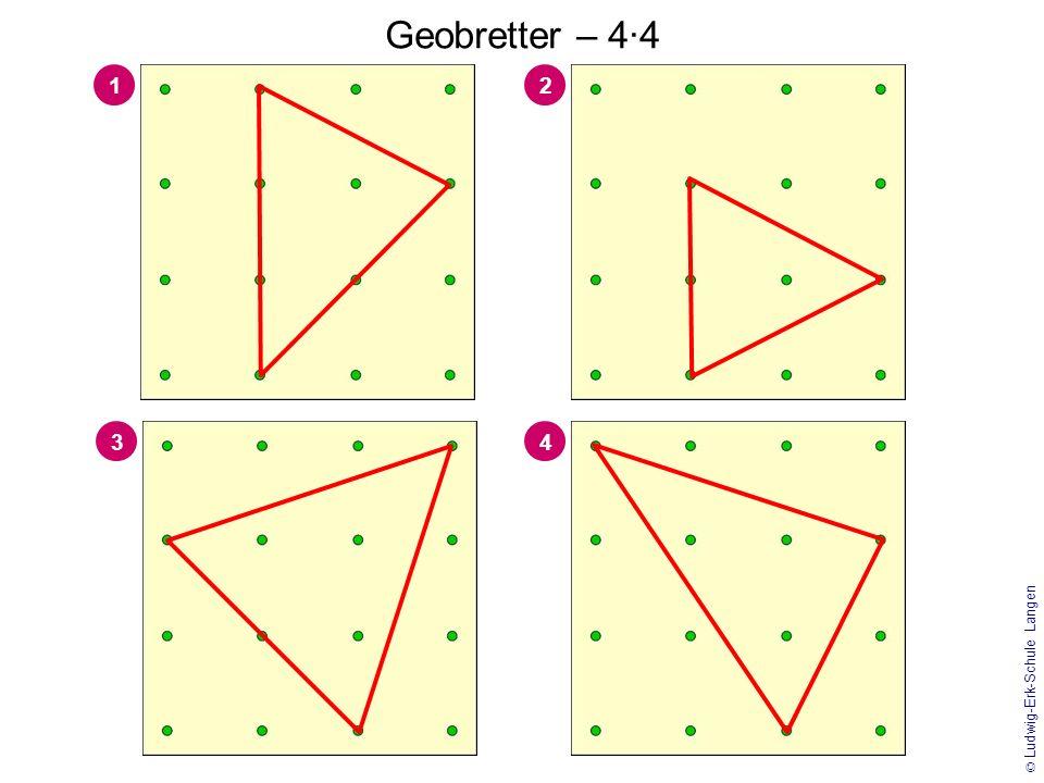 Geobretter – 4·4