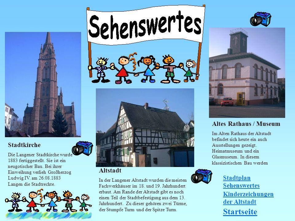 Startseite Altes Rathaus / Museum Stadtkirche Altstadt