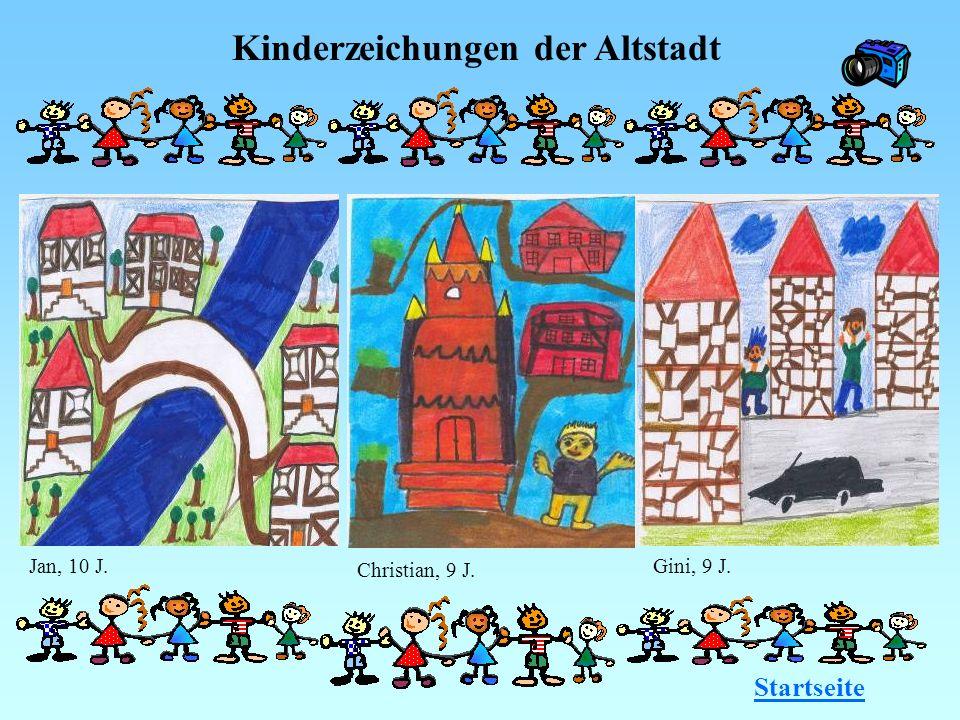 Kinderzeichungen der Altstadt