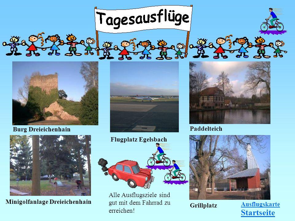 Startseite Burg Dreieichenhain Paddelteich Flugplatz Egelsbach