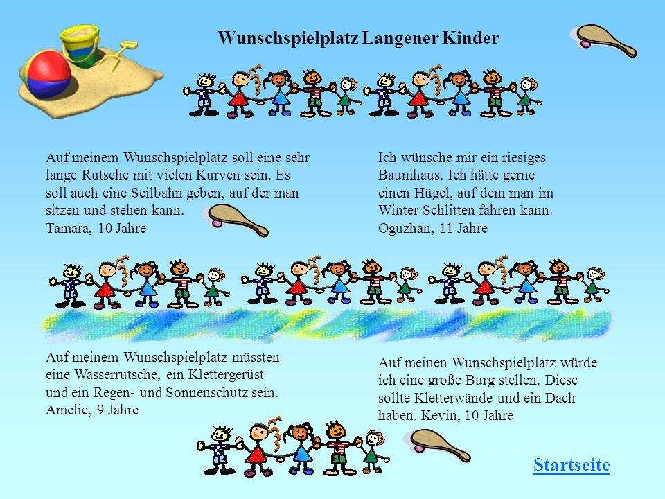 Wunschspielplatz Langener Kinder