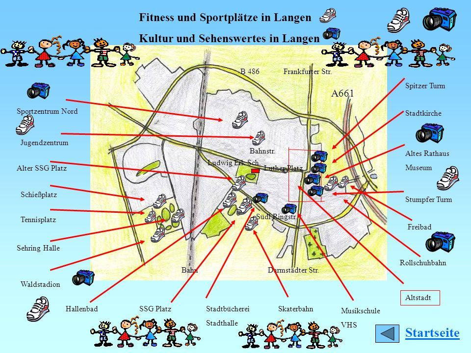Startseite Fitness und Sportplätze in Langen