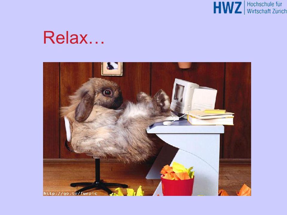 Relax… HJGHK