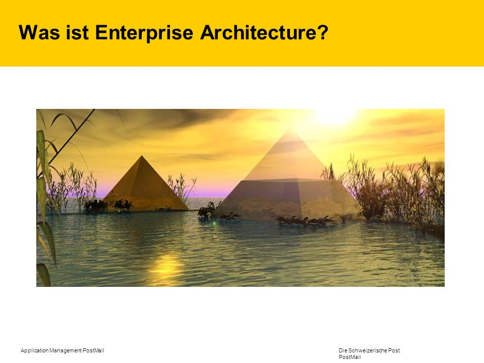 Was ist Enterprise Architecture