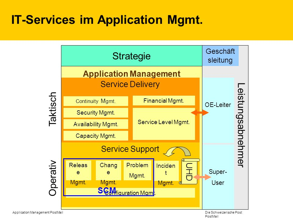 IT-Services im Application Mgmt.