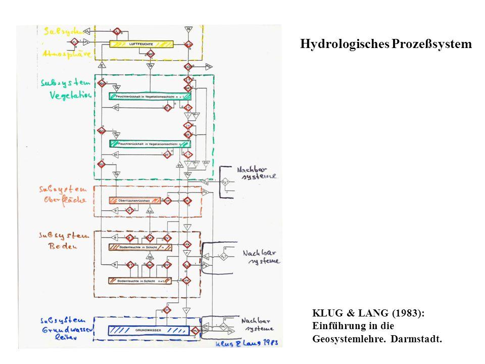 Hydrologisches Prozeßsystem