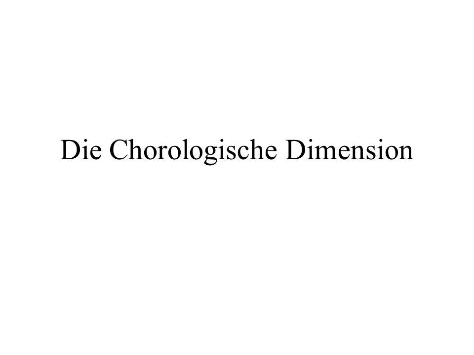 Die Chorologische Dimension