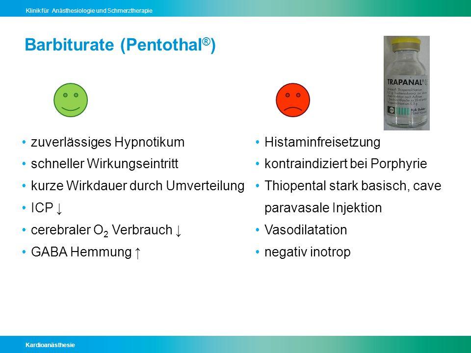 Barbiturate (Pentothal®)