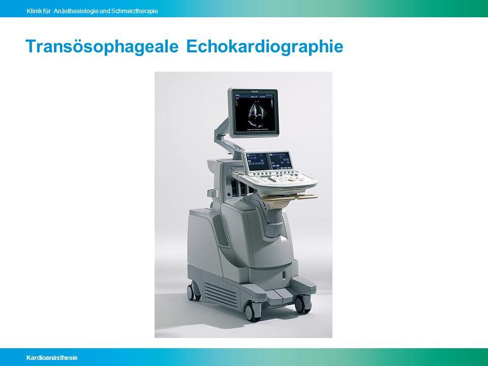 Transösophageale Echokardiographie