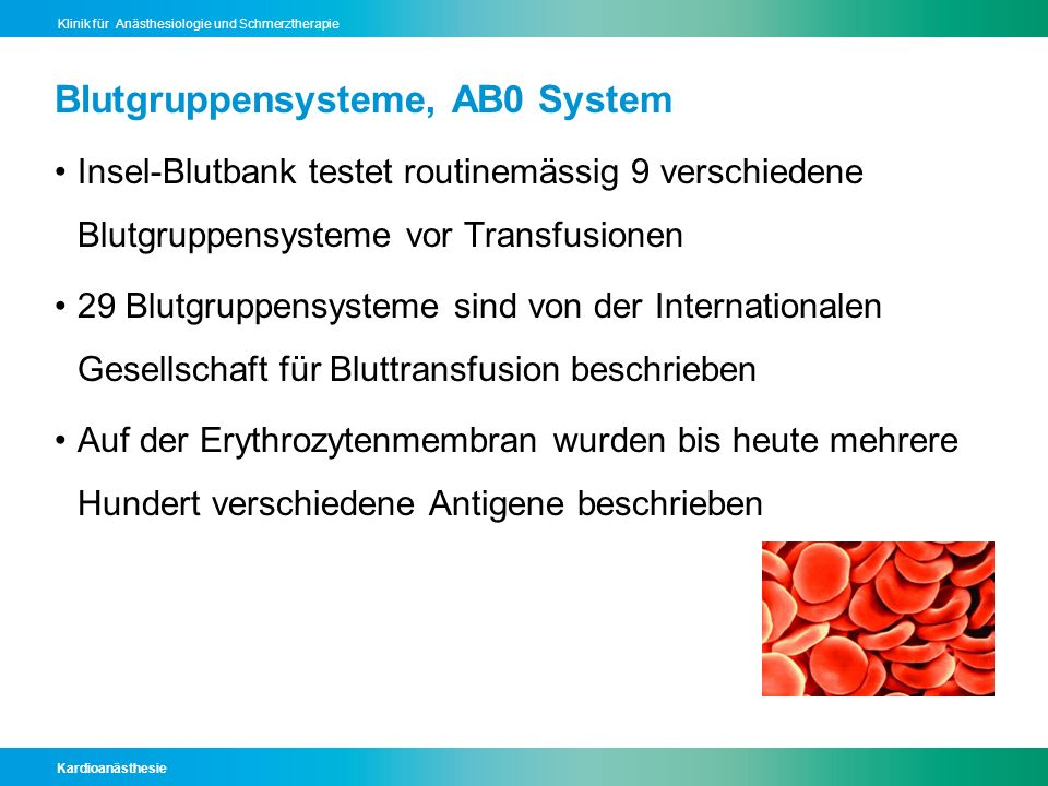 Blutgruppensysteme, AB0 System