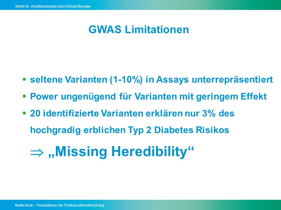 " ""Missing Heredibility"