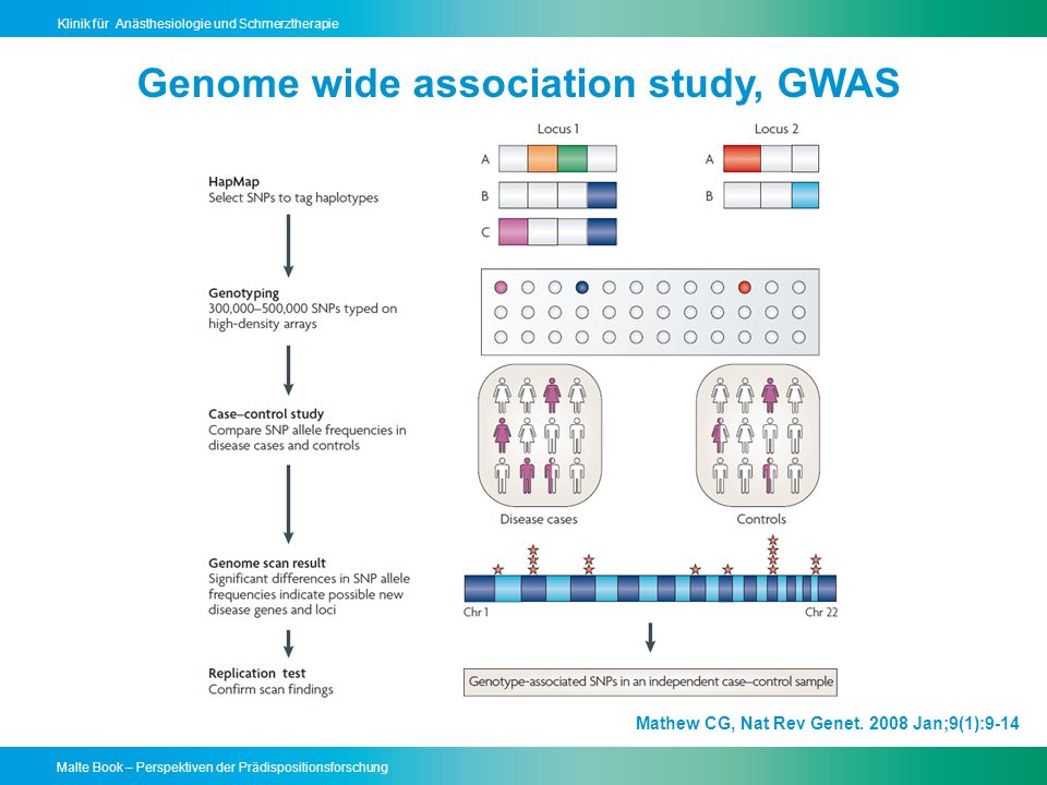 Genome wide association study, GWAS