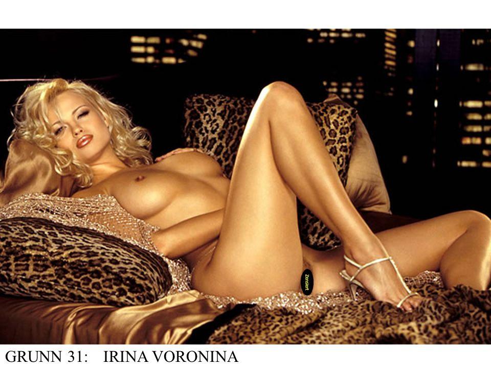 GRUNN 31: IRINA VORONINA