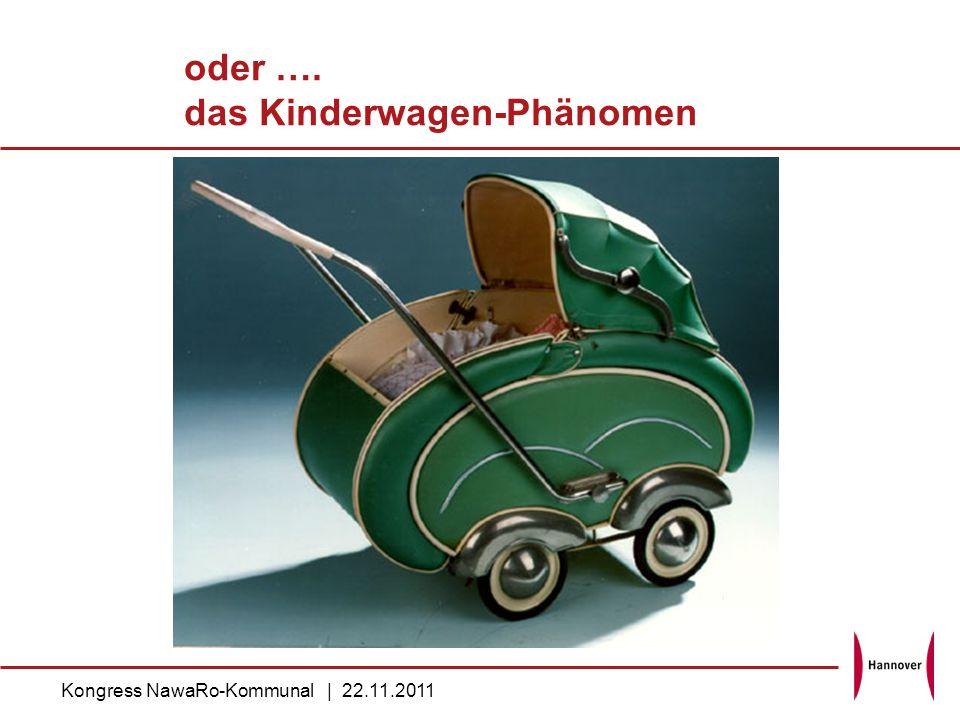 oder …. das Kinderwagen-Phänomen