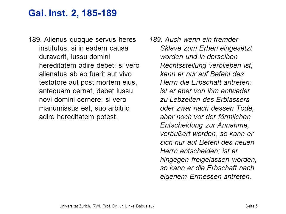 Gai. Inst. 2, 185-189