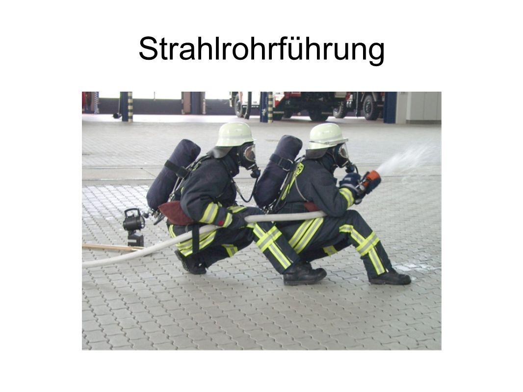 Strahlrohrführung