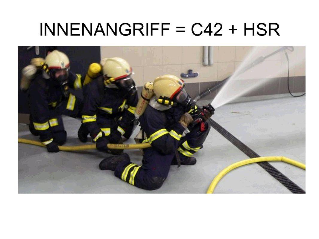 INNENANGRIFF = C42 + HSR Zweck der Wärmebildkamera Die Wärmebildkamera