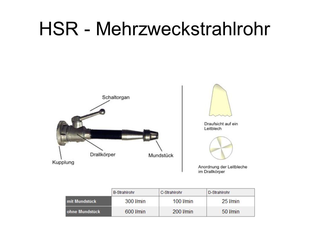 HSR - Mehrzweckstrahlrohr