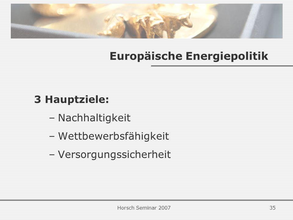 Europäische Energiepolitik