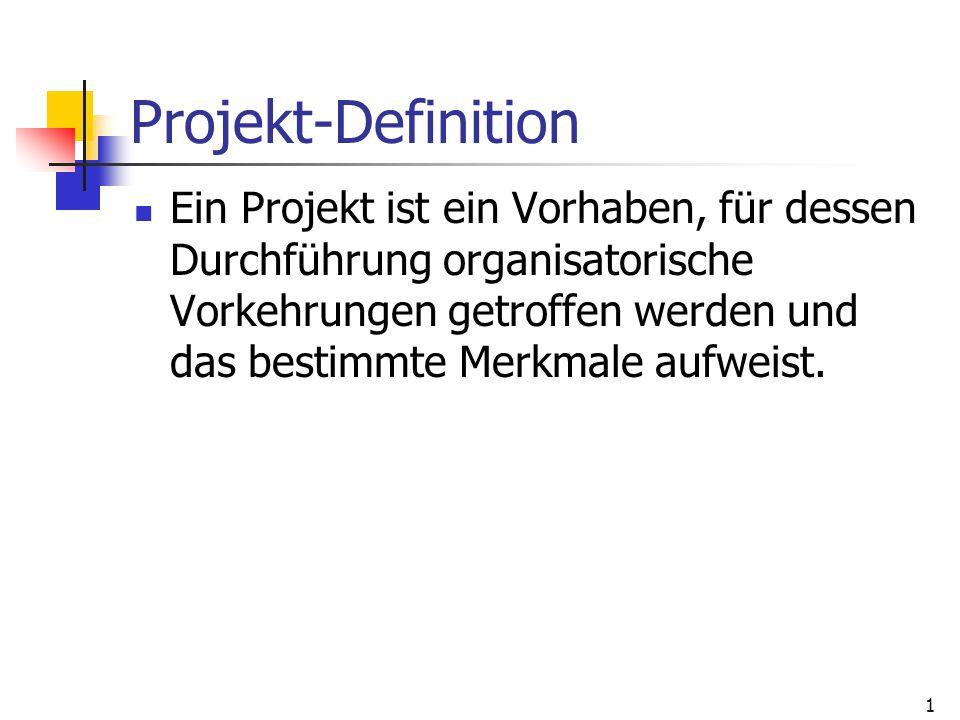 Projekt-Definition