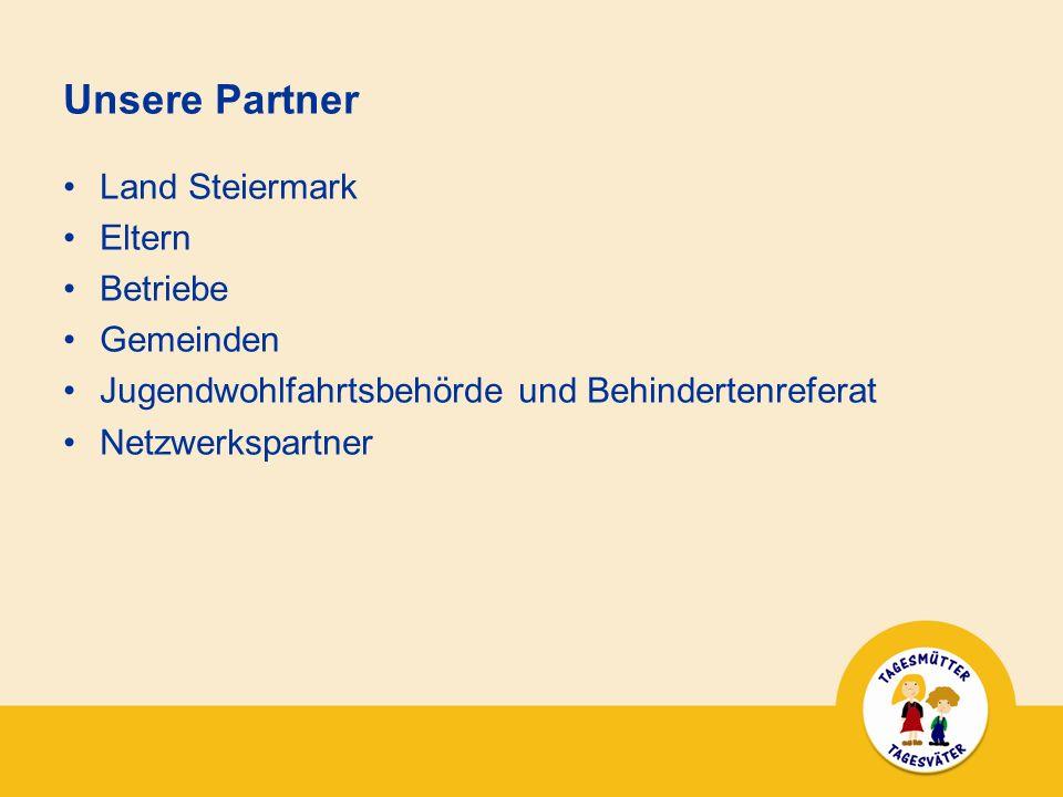 Unsere Partner Land Steiermark Eltern Betriebe Gemeinden