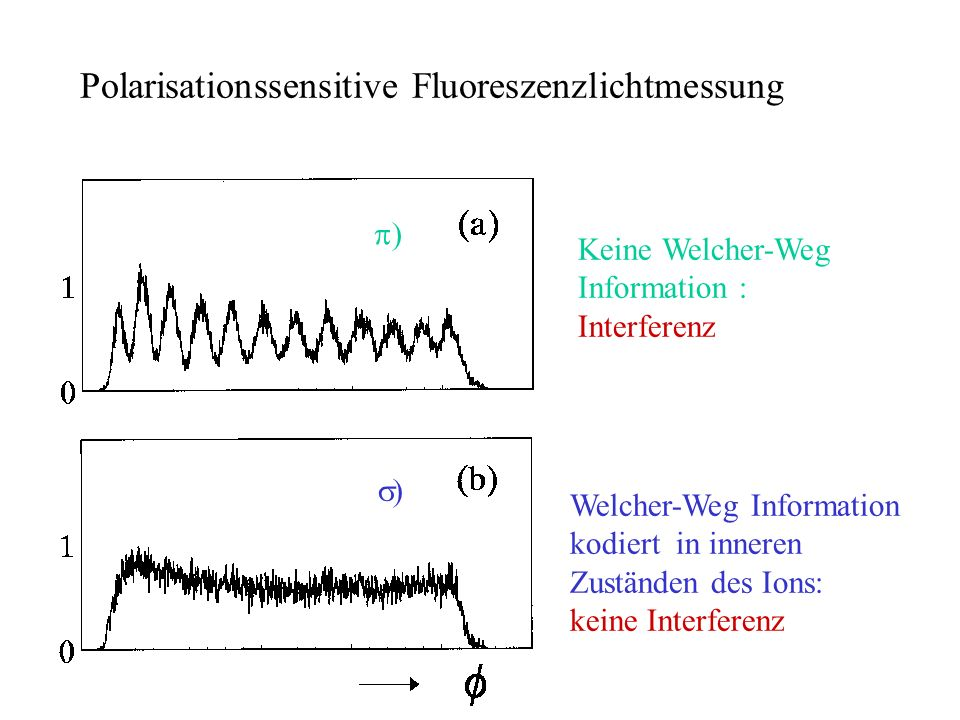 Polarisationssensitive Fluoreszenzlichtmessung