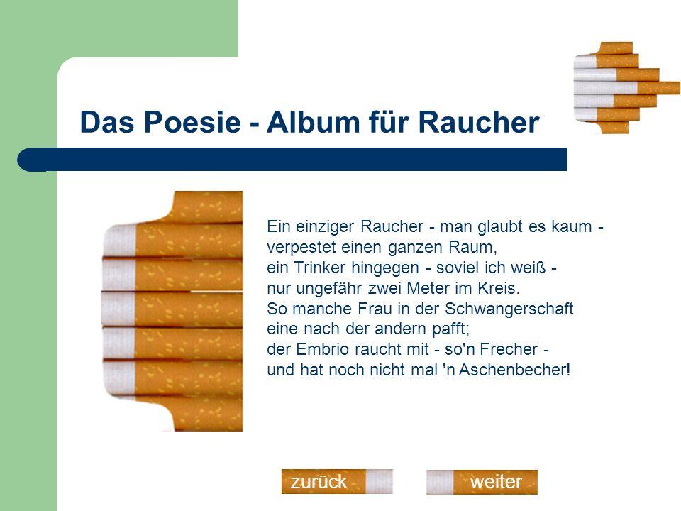 Das Poesie - Album für Raucher