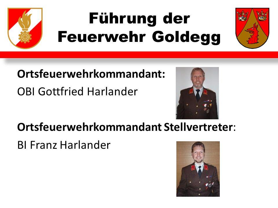 Führung der Feuerwehr Goldegg